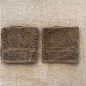 Set of 2 Hudson Park Wascloths